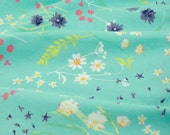 KNIT Blossom Swale in Calm - from the Lavish collection by Art Gallery Fabrics - knit fabric by the yard starting at a half yard