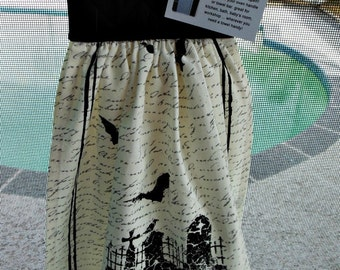 Button Down Halloween Towel