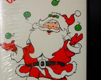 Vintage Santa Claus Christmas Party Invitations, 8 per package, St. Nick, Kris Kringle, Merry Christmas, Party, American Greetings