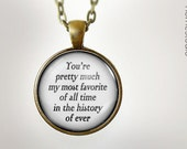 History of Ever : Glass Dome Necklace gift present by HomeStudio. Round art photo pendant jewelry. Available as Key Ring Keychain