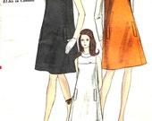 UNCUT Bust 36 Vogue 1960's Dress 7156 Size 16
