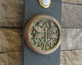 Dragonfly Doorbell Craftsman Oil Rubbed Bronze