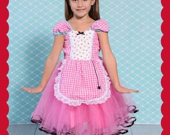 Little Miss Muffet costume, Itsy Bitsy Spider birthday, Halloween Costume, toddler girls Halloween Costume, Lover Dovers