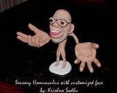 Homunculus with Customized Facial Features - Made to Order