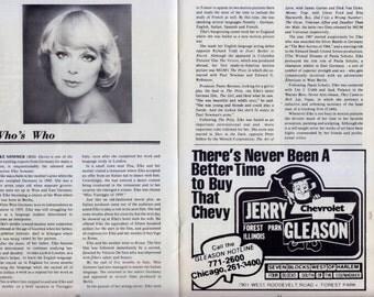 Born Yesterday Souvenir Theater Program 1978 - Stagebill Magazine