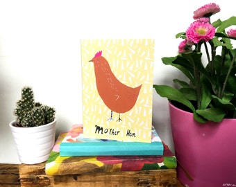 Mother Hen card cc187
