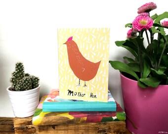 Mother Hen card cc187