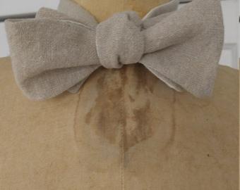 ORGANIC Hemp Bow Tie, Unisex