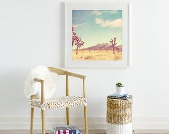 framed Joshua Tree photography, framed photo, Joshua Tree print, desert photograph, southwest decor, ready to hang wall art, Palm Springs