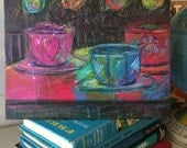Teacups at Midnight Study No. 2