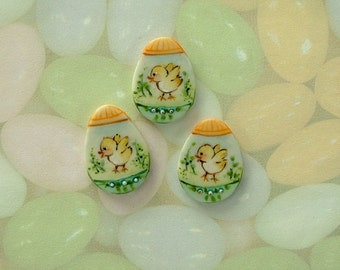 Decorated Egg Chick set of 3