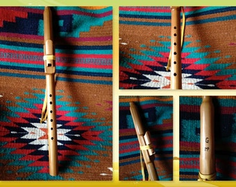 G Minor Native american Style Flute in Western Red Cedar