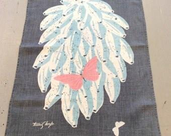 Vintage Towel Tammis Keefe Bananas & Butterflies