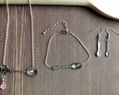 Custom for CHRISTA beaded spoon jewellery set