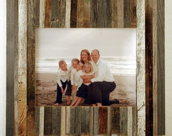 Nautical Frame- 8x10 Reclaimed Wood Picture Frame
