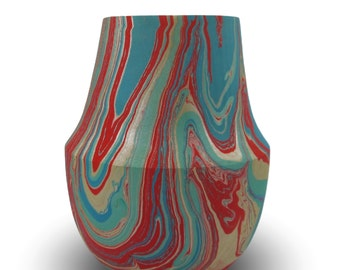 Eclectic Home Decor Colorful - Sycamore wood Vessel