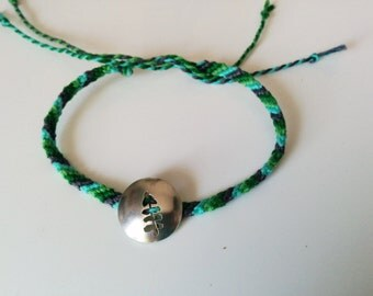 Plant a tree Friendship bracelet