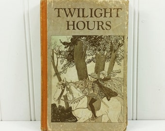 Twilight Hours Stories for Boys and Girls, 1927 Augustana Book Concern Bedtime Stories with Morals