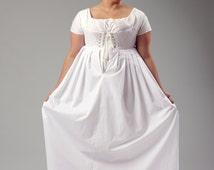 Regency Bodiced Petticoat Upon Request