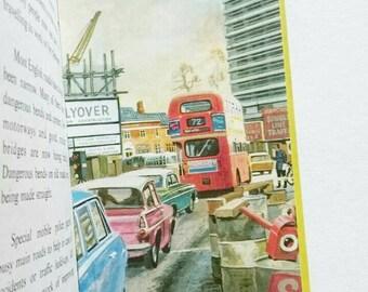 Vintage Ladybird Book Transport Through The Ages 1973 Matt Hardback Cover Series 606F
