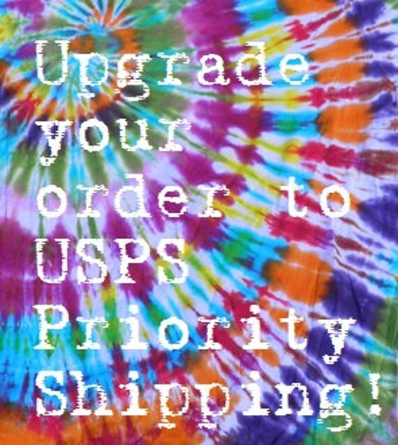 Upgrade your order to Priority Shipping 1-3 days