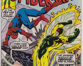 1979 Issue 193 Amazing Spiderman Comic Book VF Condition