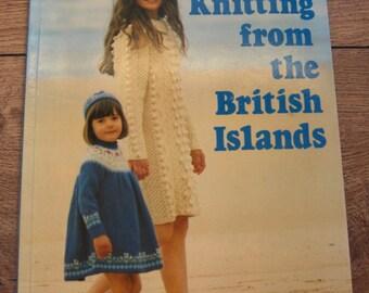 vintage 80s knitting patterns Alice Starmore Anne Matheson KNITTING From The BRITISH ISLANDS  men women children