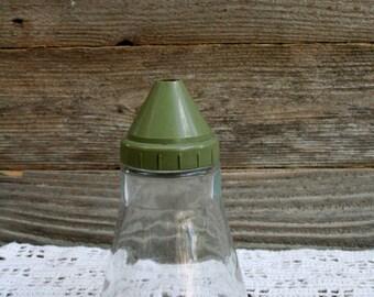 Vintage 1950's Glass Sugar Jar
