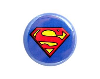 """Superhero Button, Small Badge, 1.25"""" Geek Button, Superhero Badge - Z05"""