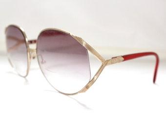 Christian Dior Vintage Eyeglass Frames 1980s . Large Lens style  model 2250