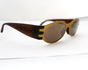 1 Rare ADIDAS  Sunglasses NOS 80s 90s Made in Austria by Masters model A319