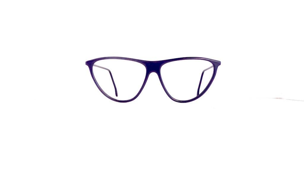90s Gianfranco Ferre Eyeglasses Cat Eye Frames Women\'s 1990\'s Purple ...