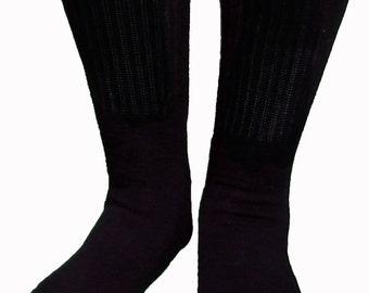 Cotton Nylon Tall Tabi Socks