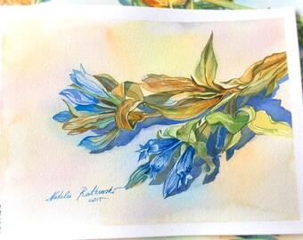 Blaue Serie Nr. 2 (19 x 24 cm)
