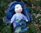 Twilight Fairy 8.5 inch Waldorf Inspired Doll