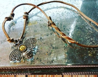 The SteamPunk Bee Necklace