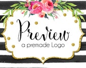 Preview a Premade Logo - Want to See a Logo with Your Information? Try Before You Buy!