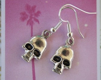Sugar Skull Jewelry Earrings - Day of the Dead
