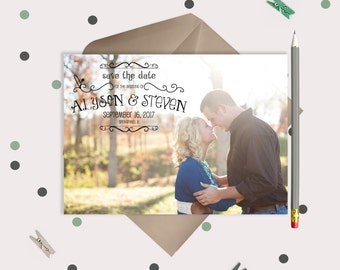 Wedding Save the Date Magnets or Cards - whimsical fun