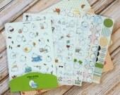 Molang Potato Rabbit cartoon stickers set Ver 02