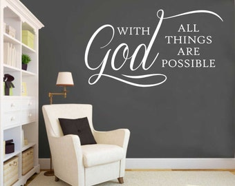 with god decal vinyl wall lettering vinyl wall decals vinyl decals vinyl letters wall quotes religious decal christian decal
