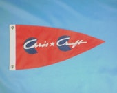 Chris Craft Flag in Red for Runabouts