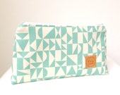 Reserved Listing for Annita - Make-up Pouch in Organic Geometric