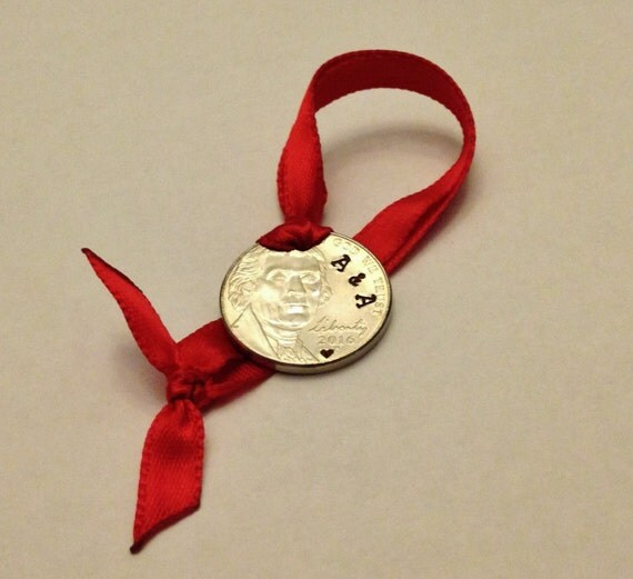 5 year anniversary christmas ornament