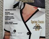 Vogue Patters Magazine March/April 1990 Sensational Designer Looks