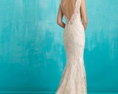 Floral Crystal and Pearl Bridal Comb- Swarovski Bridal Comb