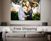 10 Year Anniversary Gift Canvas Print Custom Made Canvas Printing | Your Photo On Canvas