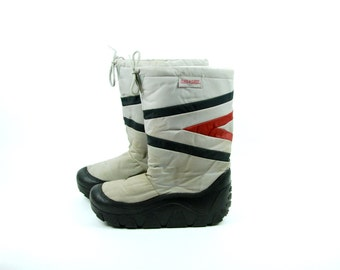 1970's Men's Snow Boots by Snowings, Size 11-12