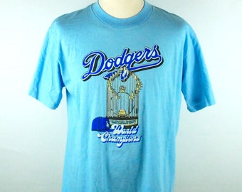 1981 Los Angeles Dodgers World Series Championship T-Shirt, Size XL