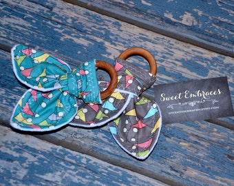 Clearance! Baby's Sensory Teething Toy ~ Select Fabric